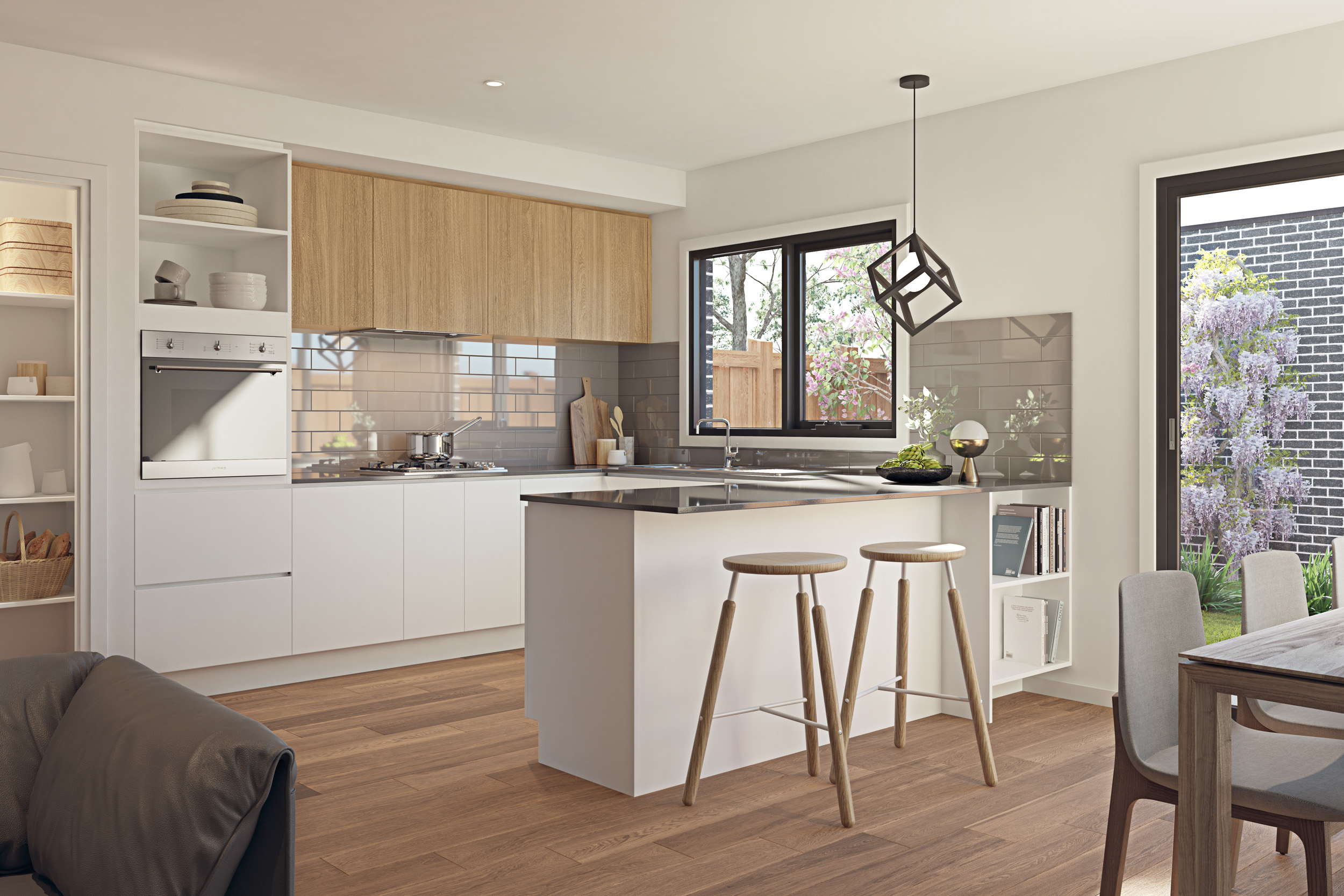Contemporary Kitchen Inclusions