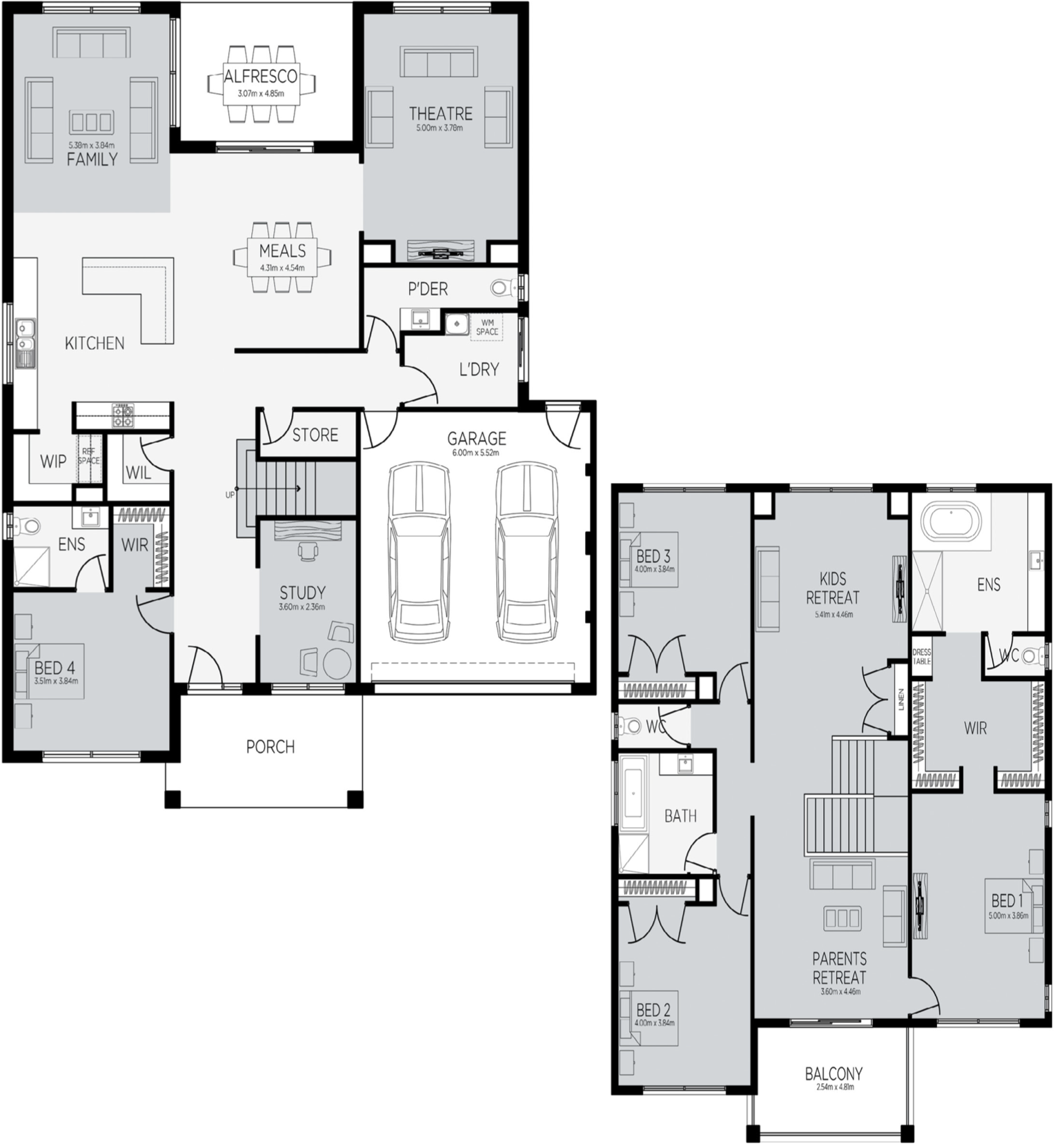 Buckingham 43 Floorplan