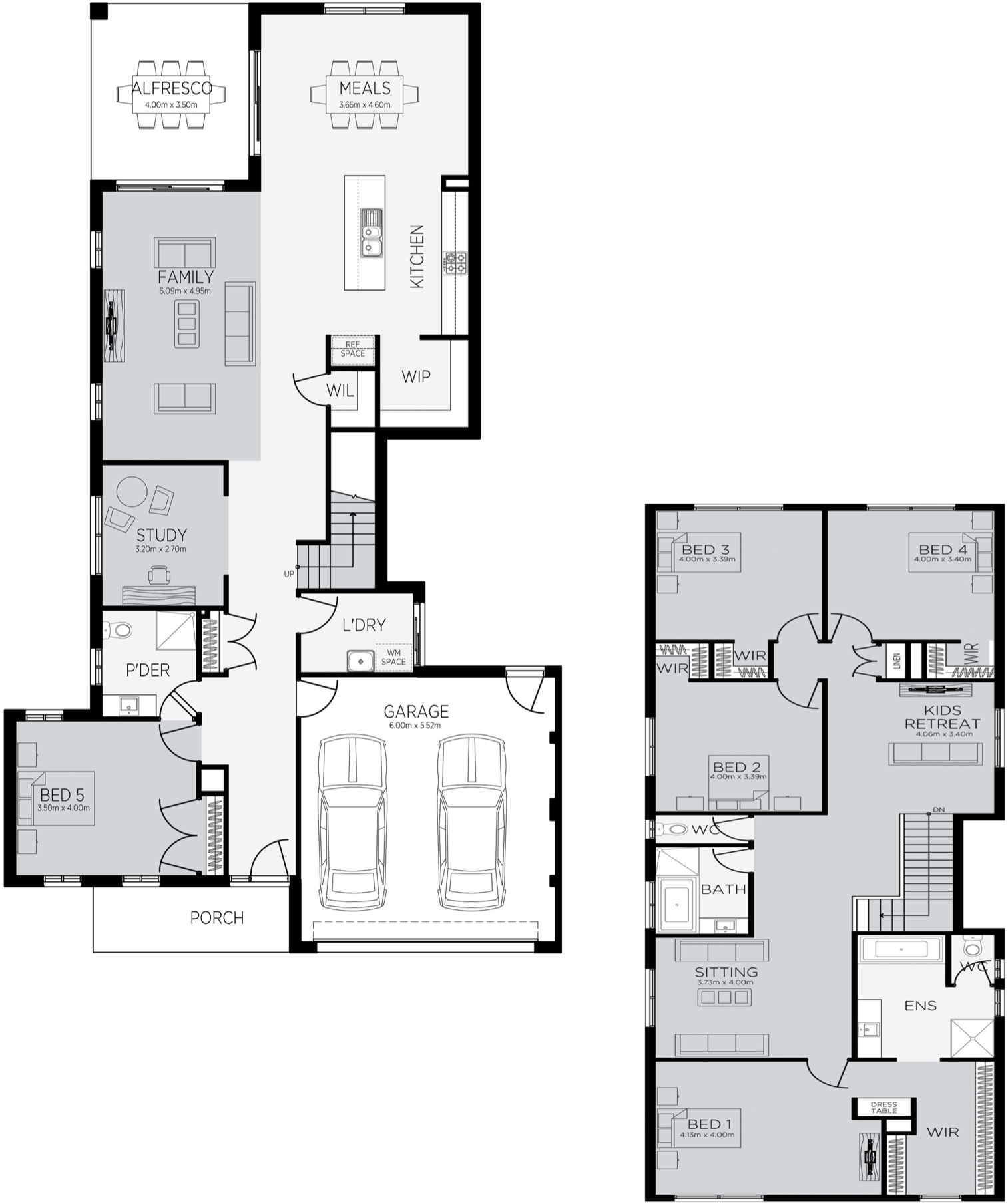 Cambridge 38 Floorplan