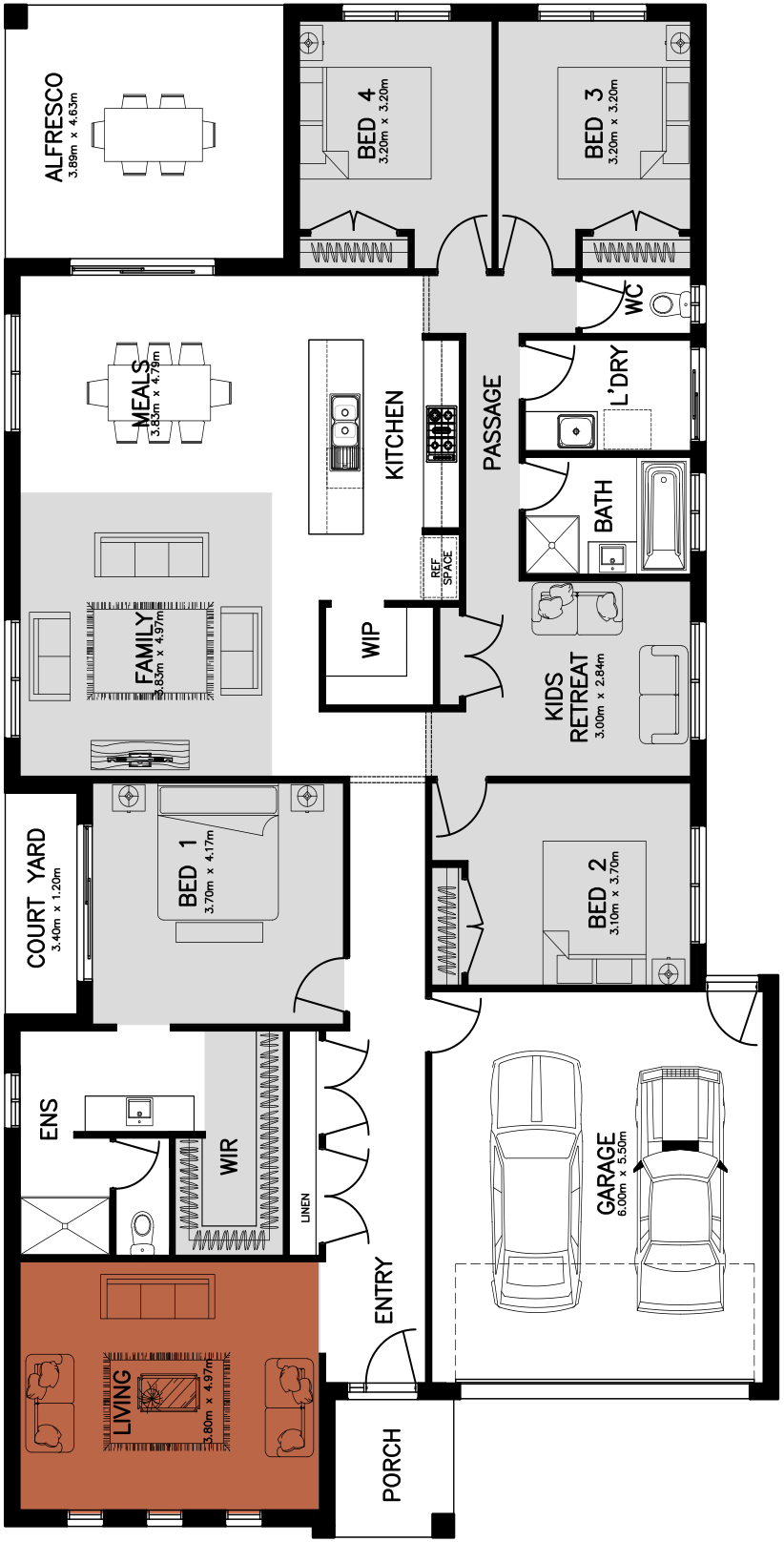 Canterbury 29 Floorplan