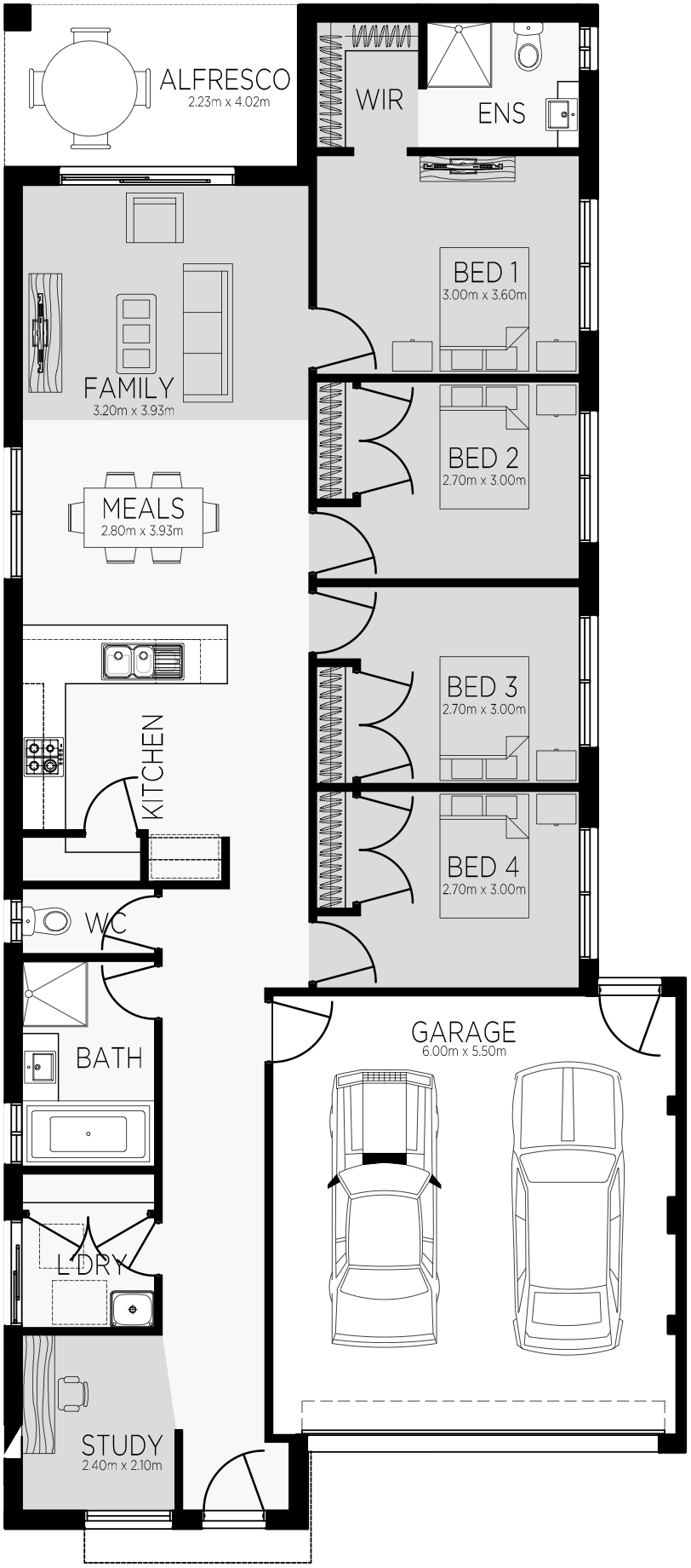 Edinborough 19 Floorplan