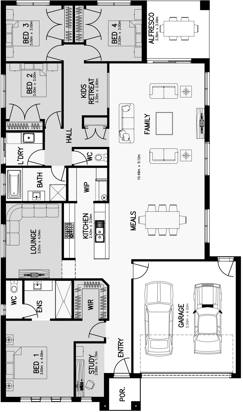 Lincoln 26 Floorplan