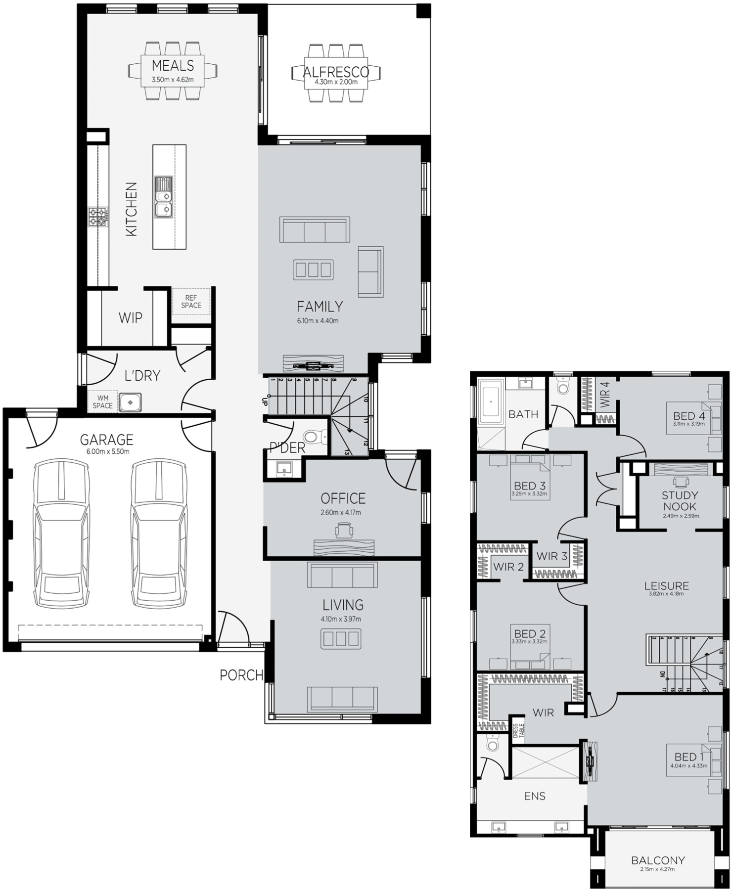 Savana 36 Floorplan