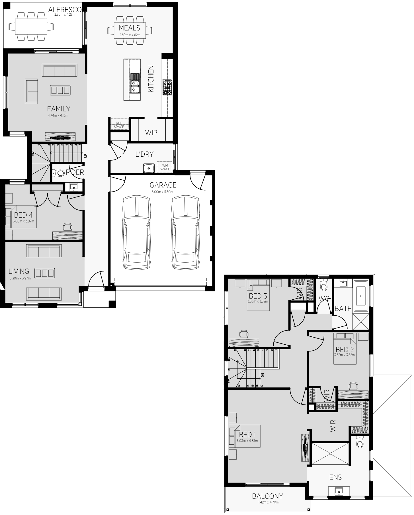 Savana 28 Floorplan