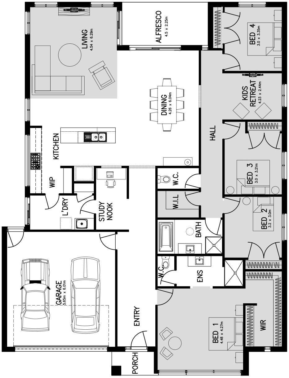 Sovereign 29 Floorplan