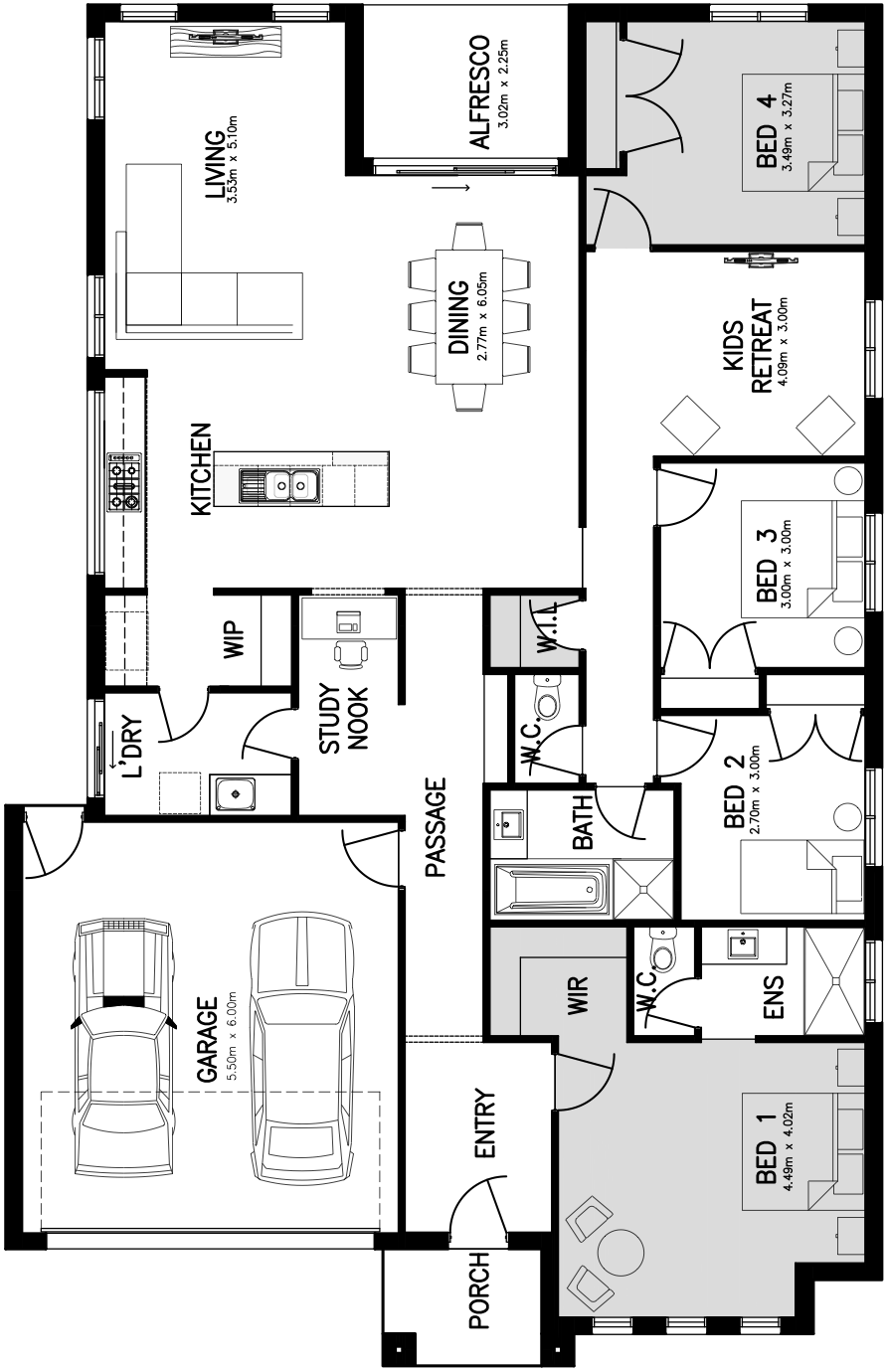 Sovereign 25 Floorplan