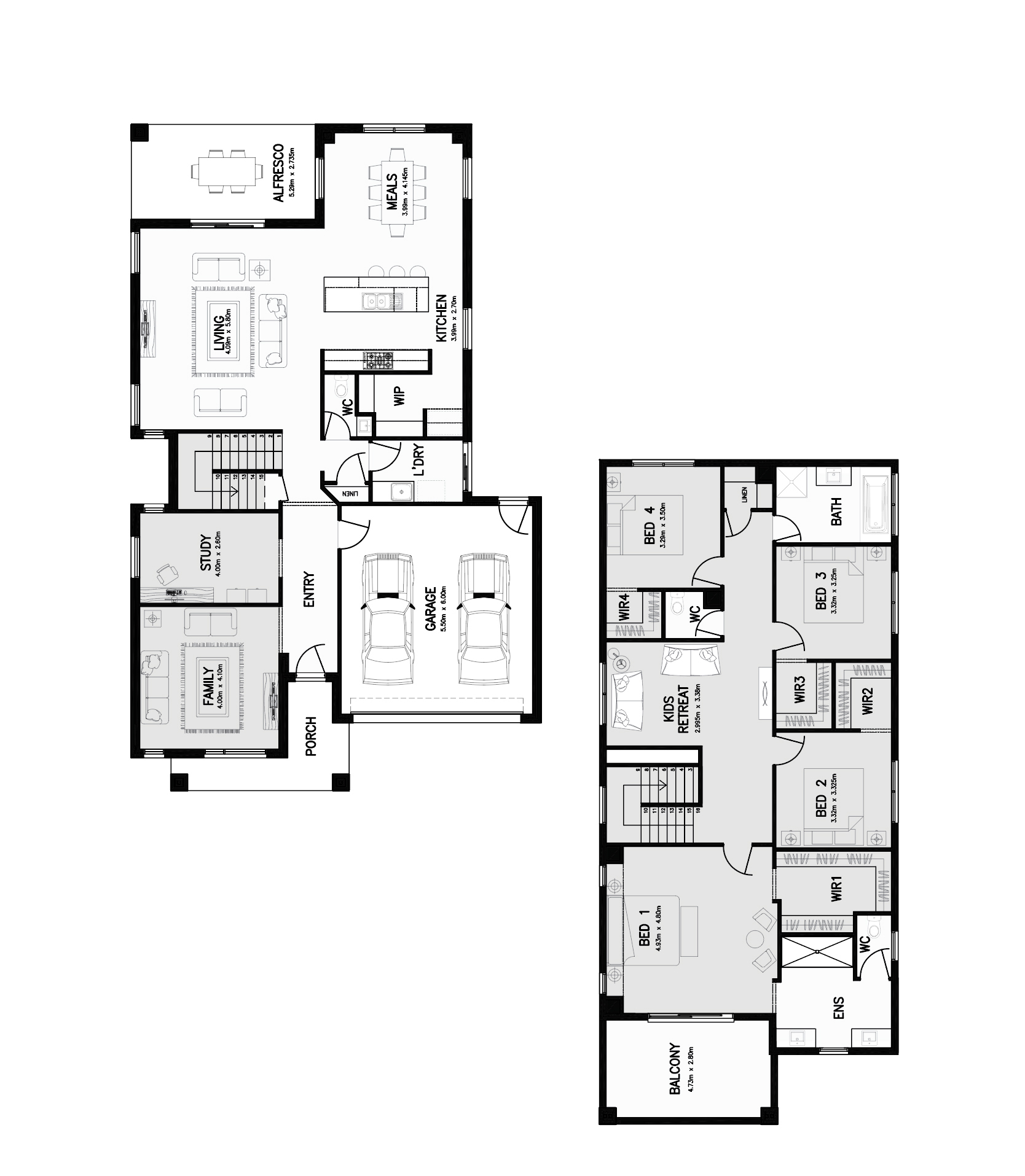 Savana 37 Floorplan